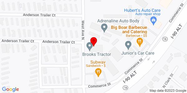 Google Map of +451+West+Avenue+North+West+Salem+WI+54669