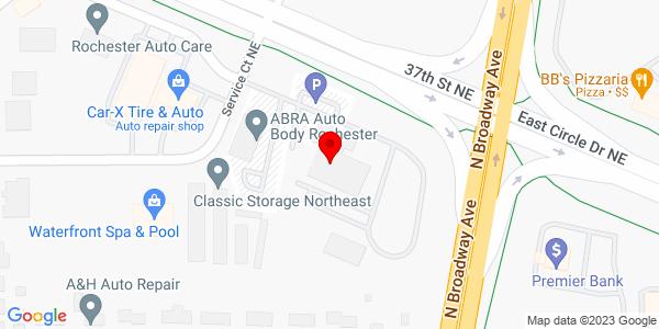 Google Map of +500+37Th+Street+Ne+Rochester+MN+55906