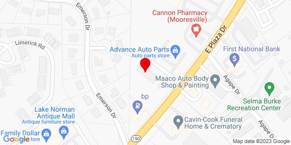 Google Map of +505+E+Plaza+Drive+Morrisville+NC+28115