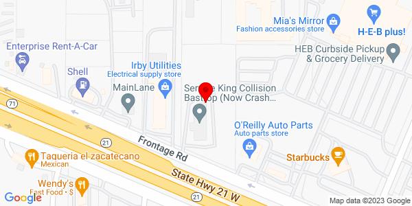 Google Map of +507+Highway+71+Bastrop+TX+78602