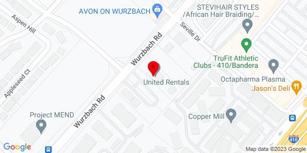Google Map of +5120+Wurzbach+Rd.+San+Antonio+TX+78238