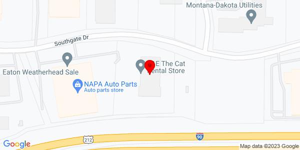 Google Map of +5200+Southgate+Drive+Billings+MT+59101