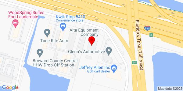Google Map of +5210+Reese+Road+Davie+FL+33314