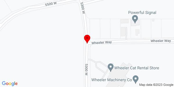 Google Map of +5300+West+Wheeler+Way+Hurricane+UT+84737