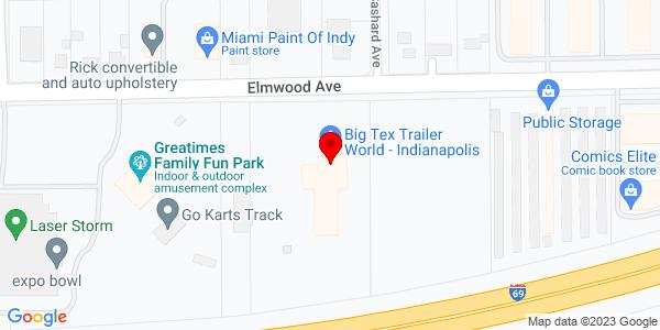 Google Map of +5401+Elmwood+Avenue+Beech+Grove+IN+46203