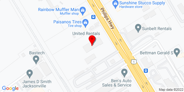 Google Map of +5402+Phillips+Highway+Jacksonville+FL+32207