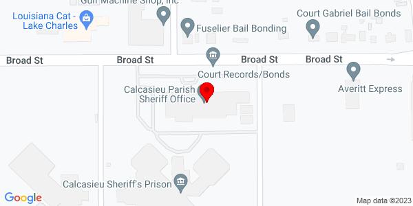 Google Map of +5414+E+Broad+Street+Lake+Charles+LA+70615