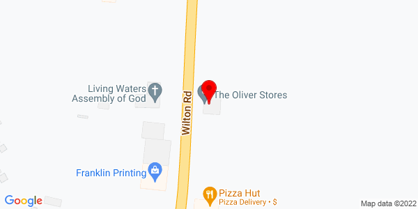 Google Map of +548+Wilton+Road+Farmington+ME+04938