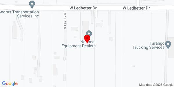 Google Map of +5524+West+Ledbetter+Drive+Dallas+TX+75236