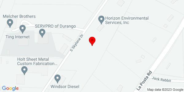 Google Map of +557+Airpark+Dr.+Durango+CO+81303