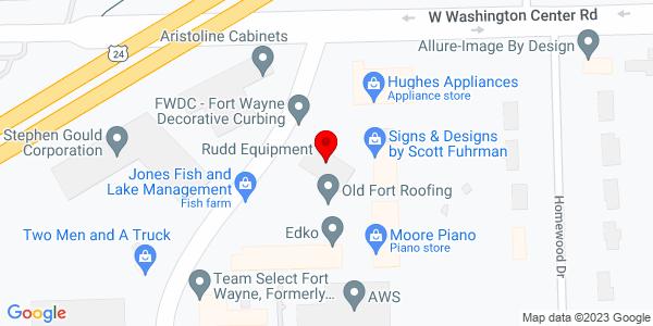 Google Map of +5820+Industrial+Road+Fort+Wayne+IN+46825