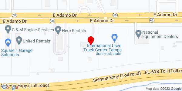 Google Map of +5907+E+Adamo+Tampa+FL+33619