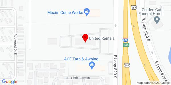 Google Map of +5930+Es+Loop+820+South+Forth+Worth+TX+76119