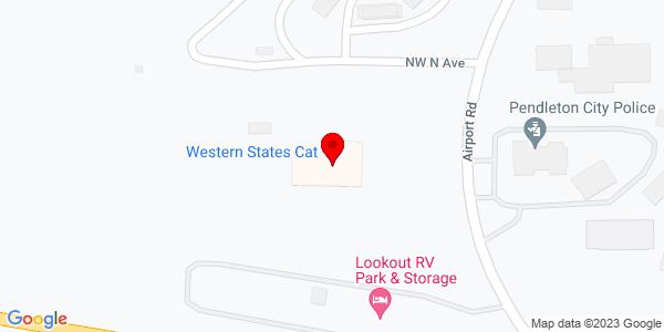 Google Map of +607+Airport+Road+Pendleton+OR+97801