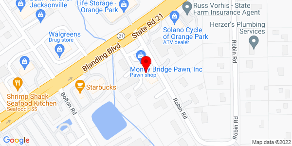 Google Map of +611+Blanding+Blvd+Orange+Park+FL+32073
