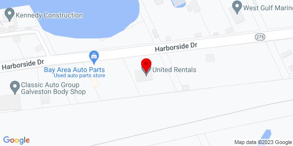 Google Map of +6311+Harborside+Drive+Galveston+TX+77554