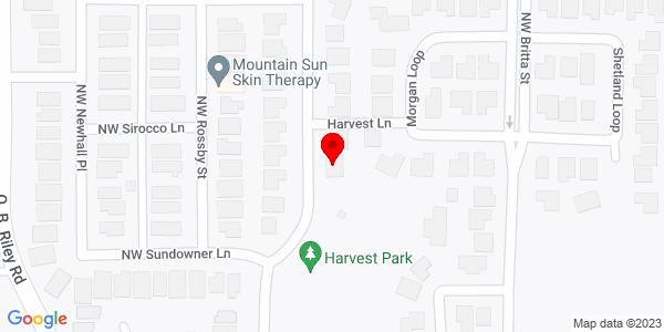 Google Map of +63254+Lavacrest+Street+Bend+OR+97701