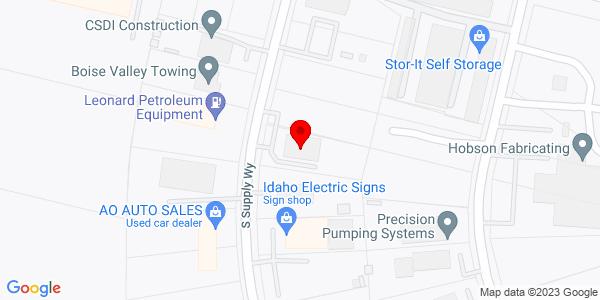 Google Map of +6438+Supply+Way+Boise+ID+83716
