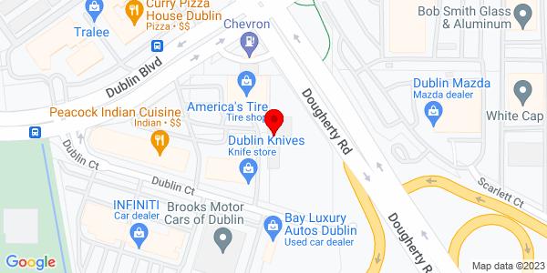 Google Map of +6457+Dublin+Court+Dublin+CA+94568