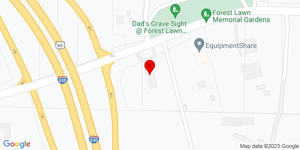 Google Map of +6520+West+Barraque+Pine+Bluff+AR+71602