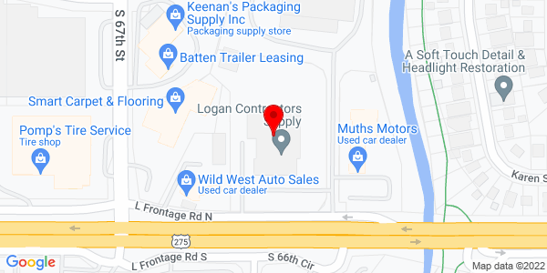 Google Map of +6544+L+Street+Omaha+NE+68117