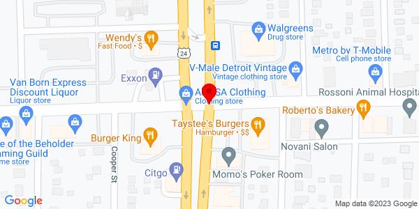 Google Map of +6677+South+Telegraph+Rd+Taylor+MI+48180