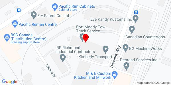 Google Map of +669+Derwent+Way+Delta+British+Columbia%2C+Canada+V3M+5P7
