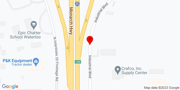 Google Map of +6700+N+I-35+Indsutrial+Blvd+Edmund+OK+73034