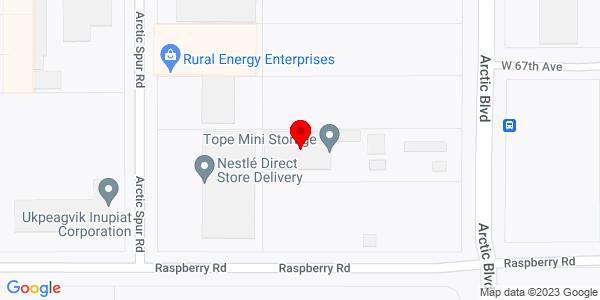 Google Map of +6720+Arctic+Blvd.+Anchorage+AK+99518