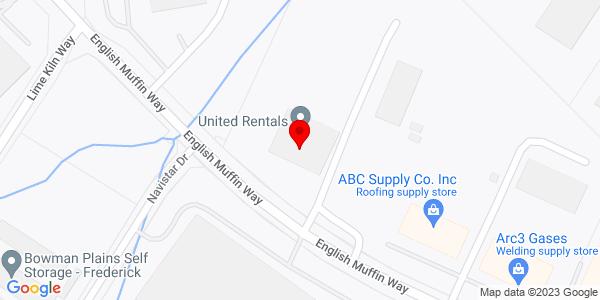 Google Map of +6810+English+Muffin+Way+Frederick+MD+21703