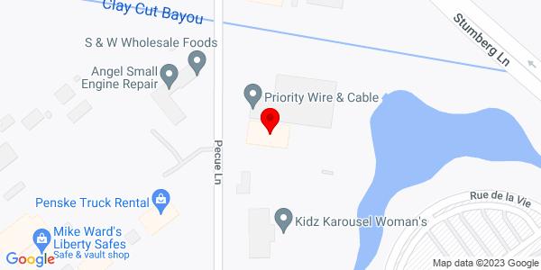 Google Map of +6821+Pecue+Lane+Baton+Rouge+LA+70817