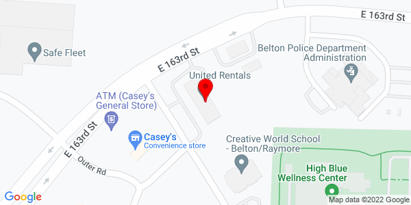 Google Map of +6905+East+163Rd+Street+Belton+MO+64012