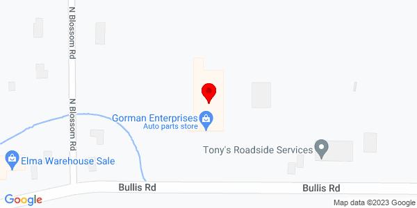 Google Map of +691+Bullis+Road+Elma+NY+14059