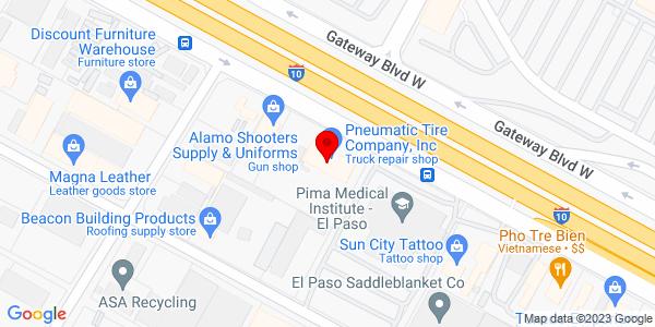 Google Map of +6914+Gateway+East+El+Paso+TX+79915