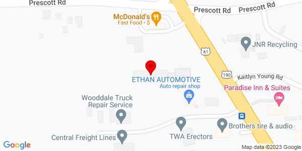 Google Map of +6952+Airline+Hwy+Baton+Rouge+LA+70805