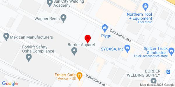 Google Map of +6960+Commerce+El+Paso+TX+79915