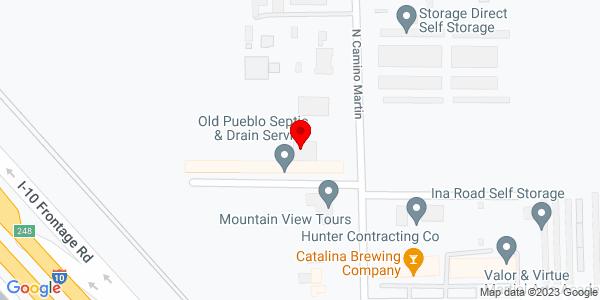 Google Map of +6975+North+Camino+Martin+Tucson+AZ+85741
