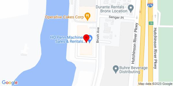 Google Map of +699+Bush+Avenue+Bronx+NY+10465