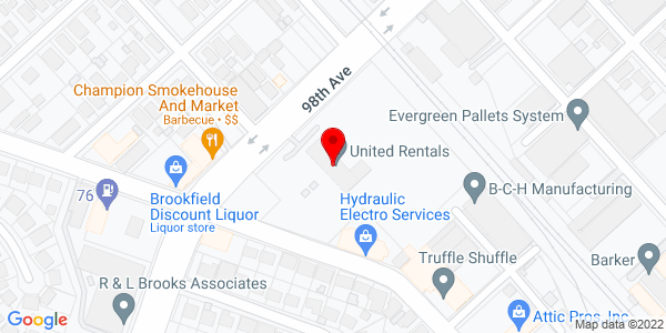 Google Map of +700+98Th+Ave+Oakland+CA+94603