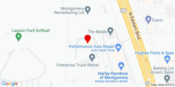 Google Map of +700+Enterprise+Court+Montgomery+AL+36117