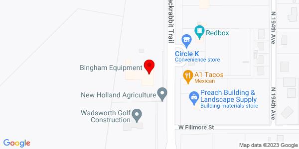 Google Map of +710+N+195th+Ave%2C+Jackrabbit+Trail+Buckeye+AZ+85326-9731