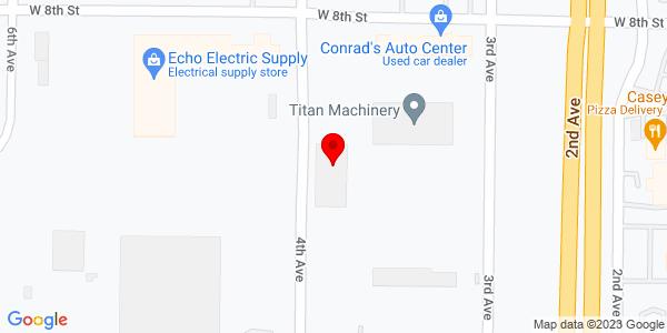 Google Map of +714+3rd+Ave+Kearney+NE+68848