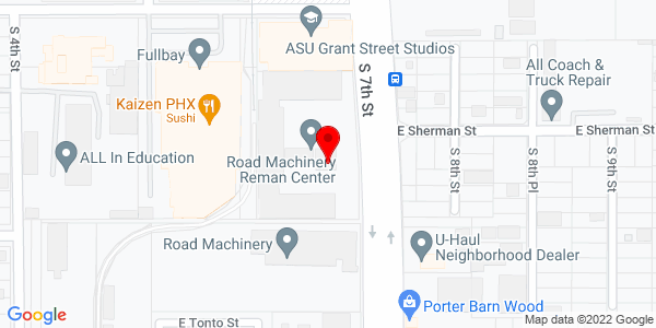 Google Map of +716+S+7th+Street+Phoenix+AZ+85034