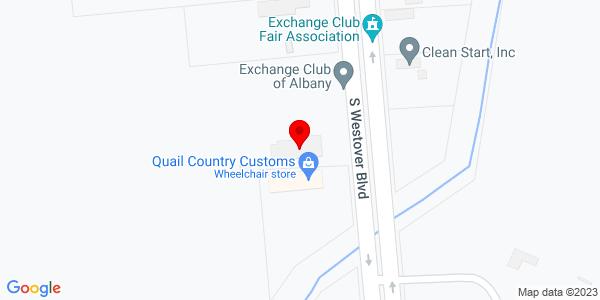 Google Map of +729+S.+Westover+Blvd+Albany+GA+31721