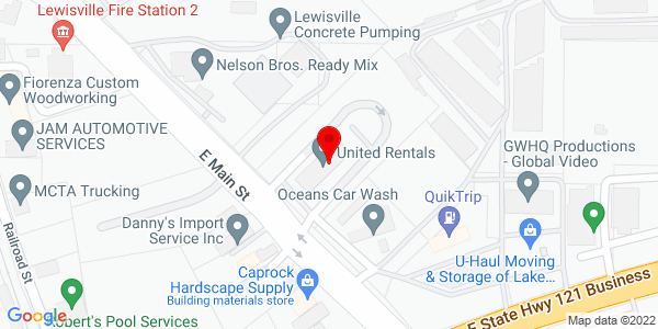 Google Map of +737+E+Main+Lewisville+TX+75057