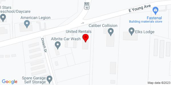 Google Map of +754+E+Young+Warrensburg+MO+64093