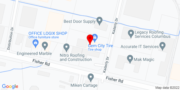 Google Map of +755+Kaderly+Drive+Columbus+OH+43228