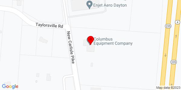 Google Map of +7570+New+Carlisle+Pike+Dayton+OH+45424