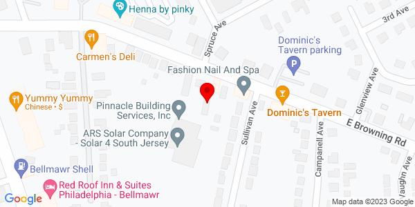 Google Map of +82+E+Browning+Road+Bellmawr+NJ+08031