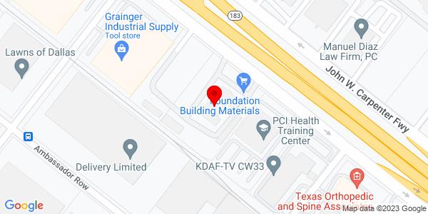 Google Map of +8231+John+W+Carpenter+Fwy+Dallas+TX+75247